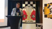 PRESIDENT: Morten Lillestøl Madsen ble gjenvalgt som president i Norges Sjakkforbund. Foto: Sjakk-NM 2017