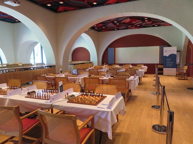 Konventum i Helsingør. Foto: Xtracon Chess Open