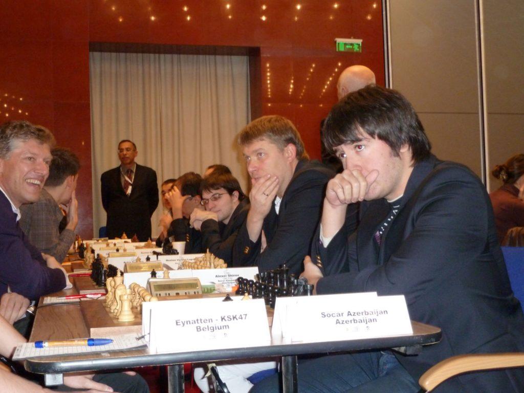 Radjabov for det sterke SOCAR i Europacupen i Bulgaria i 2010. Foto: Tarjei J. Svensen