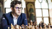 SUVEREN: Magnus Carlsen dominerte i Leuven, og sikret seieren to runder før slutt. Foto: Lennart Ootes