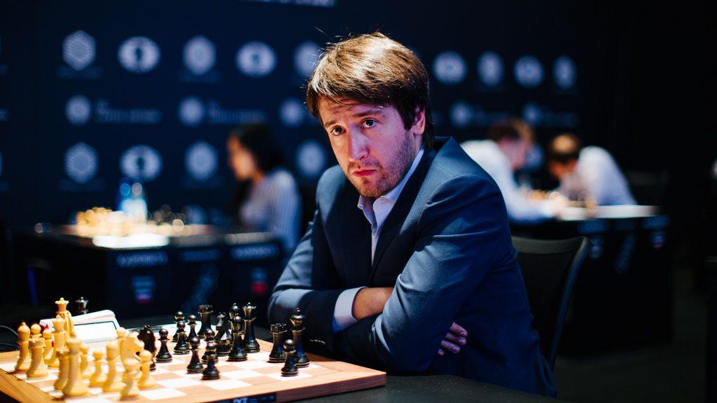 KØLLESLAG: Teimour Radjabov fikk en drømmestart med seire i de to første rundene. Foto: World Chess