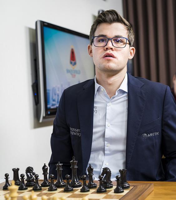 Carlsen har vunnet Sinquefield Cup én gang før: I 2013. Kan han vinne igjen? Foto: Lennart Ootes/Grand Chess Tour