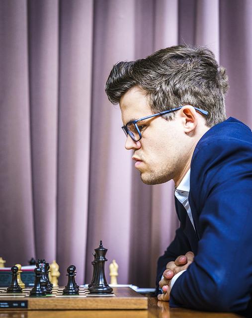 FRISKMELDT? To poeng etter to svarte og ett hvitt parti må sies å være godkjent. Foto: Lennart Ootes/Grand Chess Tour