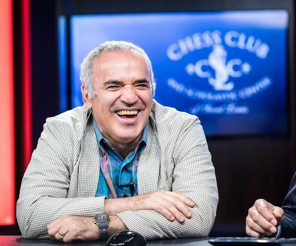Kan Garry Kasparov sjokkere med seier i St. Louis? Foto: Lennart Ootes/Grand Chess Tour