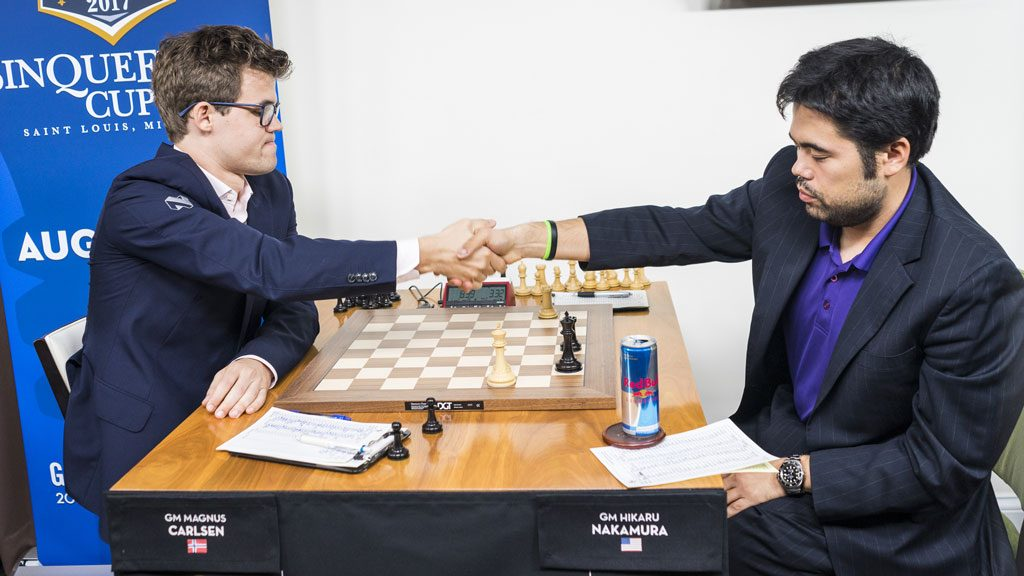 Remisen ble klar etter seks timer og 10 minutter. Foto: Lennart Ootes/Grand Chess Tour