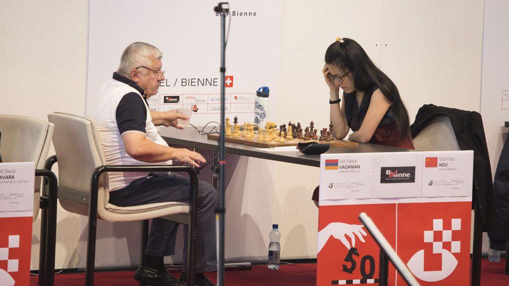 LEGENDE: Armeneren Rafael Vaganian var en av verdens beste spillere på 80- og 90-tallet. Foto: Biel Internetional Chess Festival