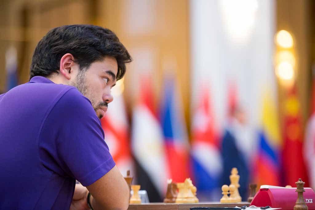UTSLÅTT: Hikaru Nakamuras kan trolig se langt etter deltakelse i Kandidatturneringen etter å ha blitt utslått i World Cup i dag. Foto: Maria Emelianova/chess.com
