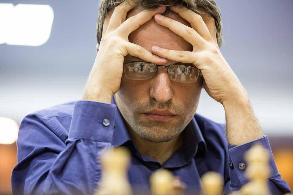 FINALEKLAR: Levon Aronian kan glede seg over å ha sikret seg plass i finalen - og Kandidatturneringen. Snart skal han også gifte seg. Foto: Maria Emelianova/chess.com