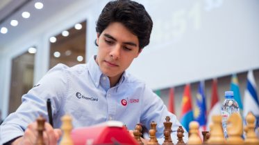 Aryan Tari er klar for Isle of Man. Foto: Maria Emelianova