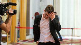 NEDERLAG: Magnus Carlsen må vinne i det andre partiet med svart etter å ha tapt med hvit. Foto: Maria Emelianova/chess.com