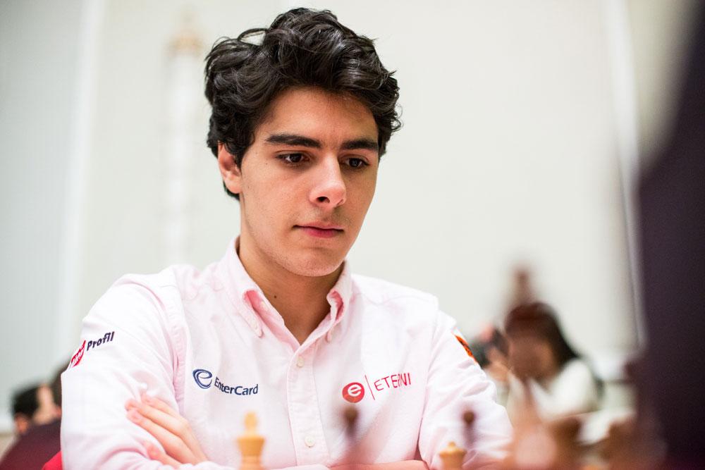 2600: Aryan Tari nærmer seg den magiske grensen igjen. Foto: Maria Emelianova/chess.com
