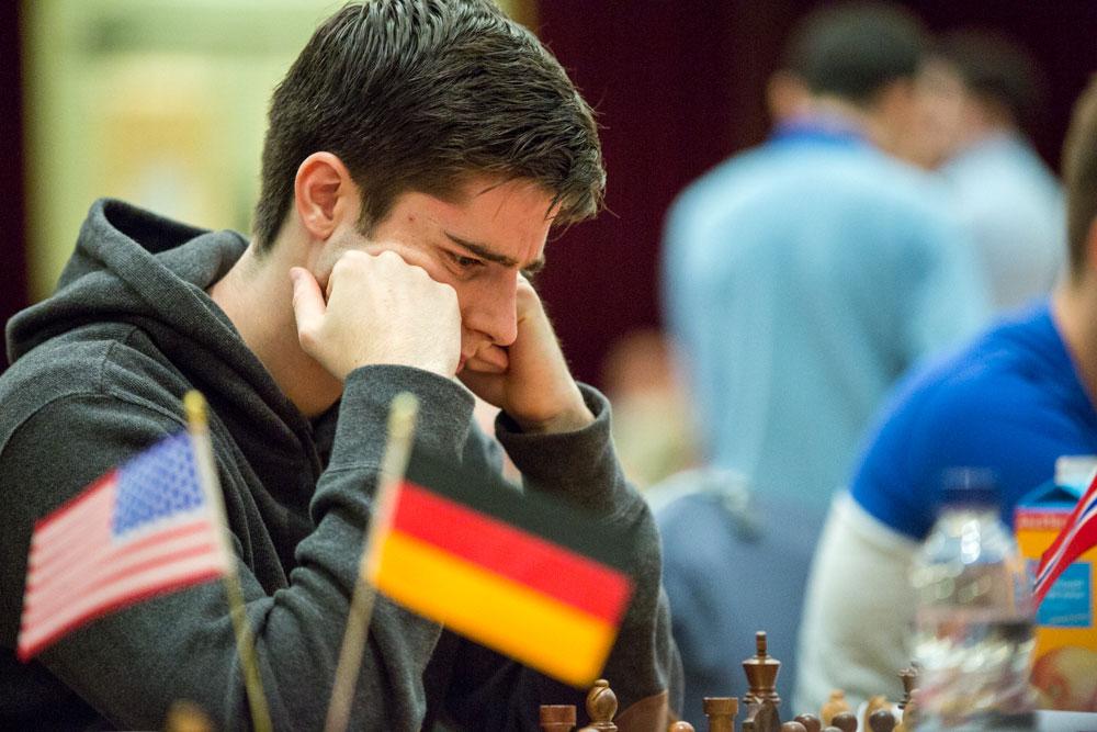 MIDDELS: Johan Salomon med 50 prosent score på Isle of Man. Foto: Maria Emelianova/chess.com
