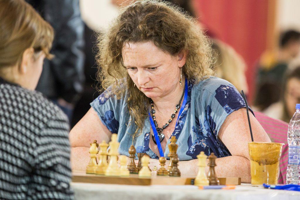 STORSPILLER: Sheila Barth Sahl storspiller for Norge og har vunnet begge sine partier. Foto: Maria Emelianova/chess.com