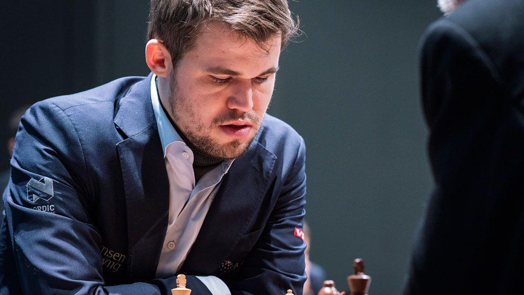 COMEBACK: Magnus Carlsen kom tilbake og vant for andre gang i tapt stilling. Foto: Lennart Ootes/Grand Chess Tour