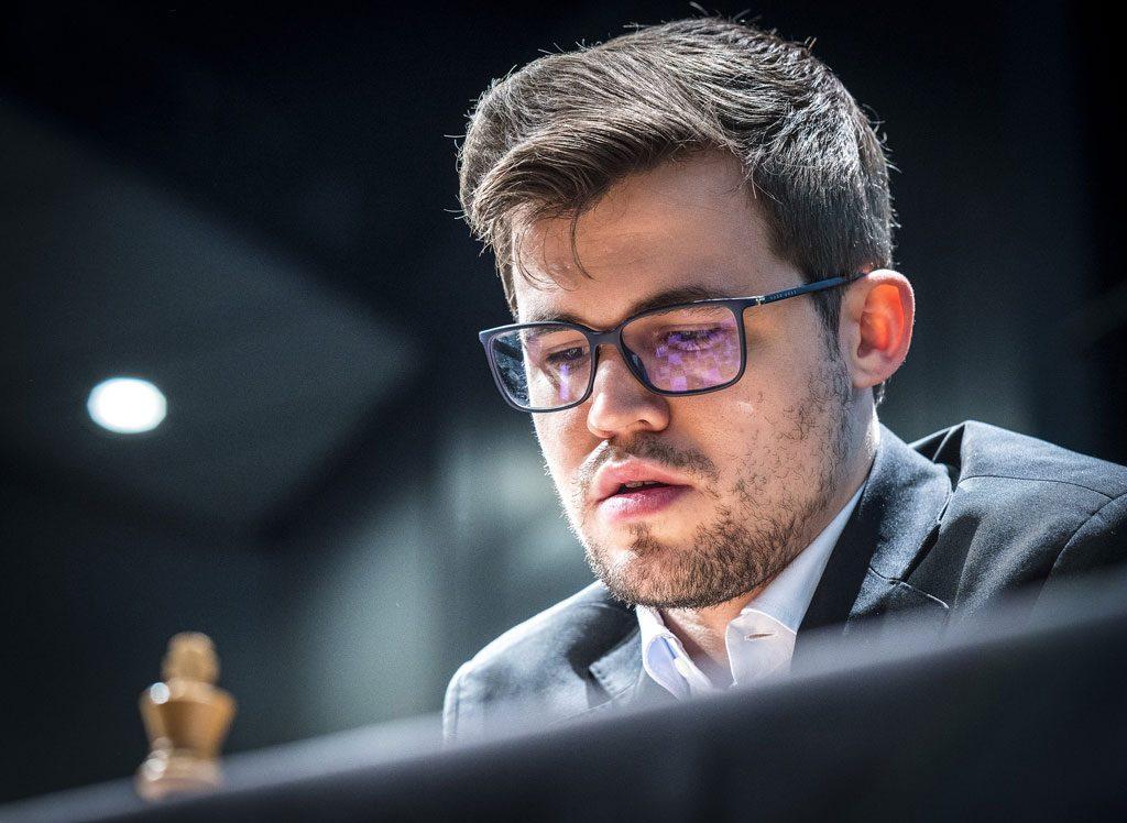 Magnus Carlsen kan ta årets andre seier i en turnering med klassisk betenkningstid. Foto: Lennart Ootes/Grand Chess Tour