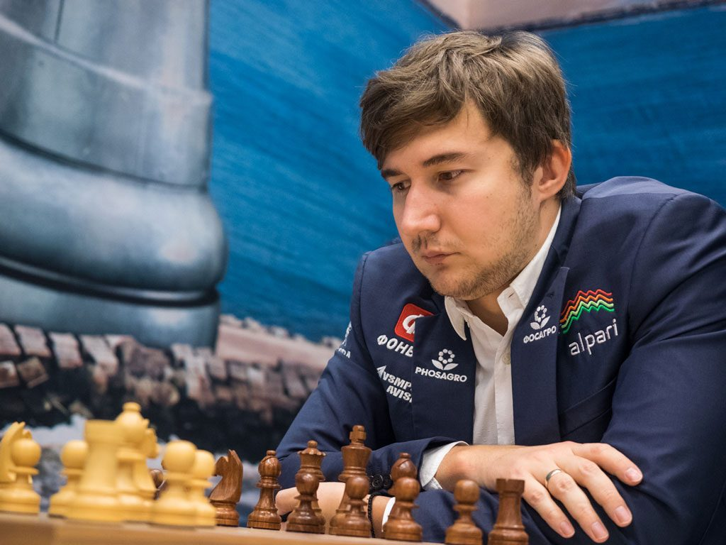 Sergey Karjakin. Photo: Maria Emelianova