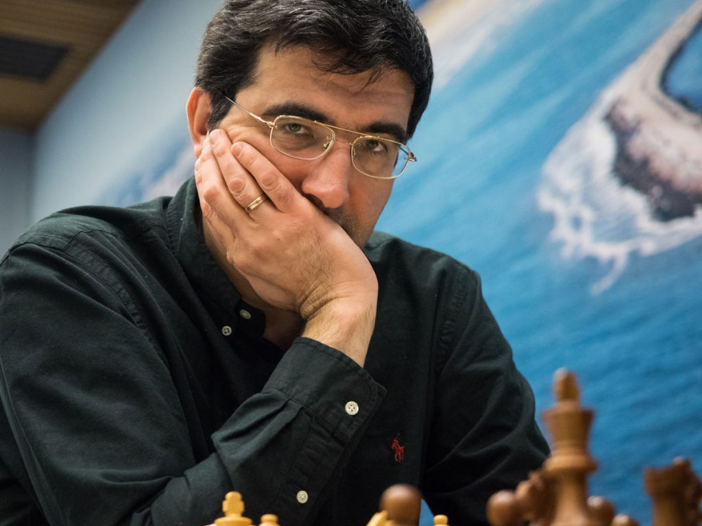 Vladimir Kramnik. Photo: Maria Emelianova