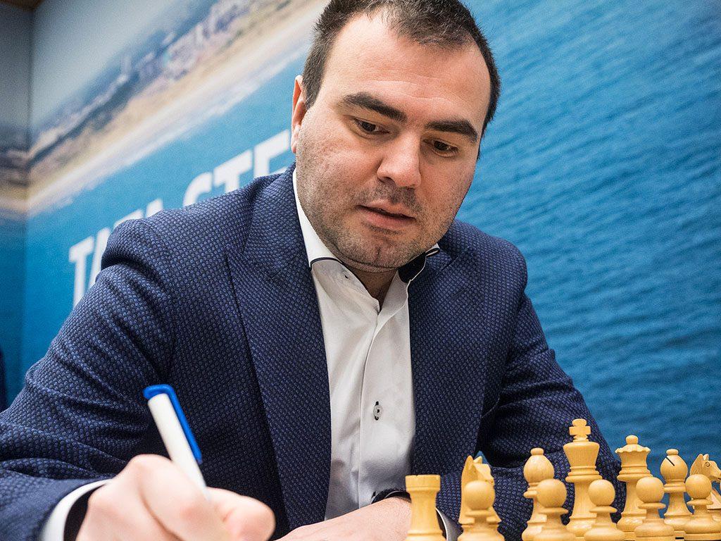 Shakhriyar Mamedyarov kan ta sin første seier i Wijk aan Zee. Foto: Maria Emelianova