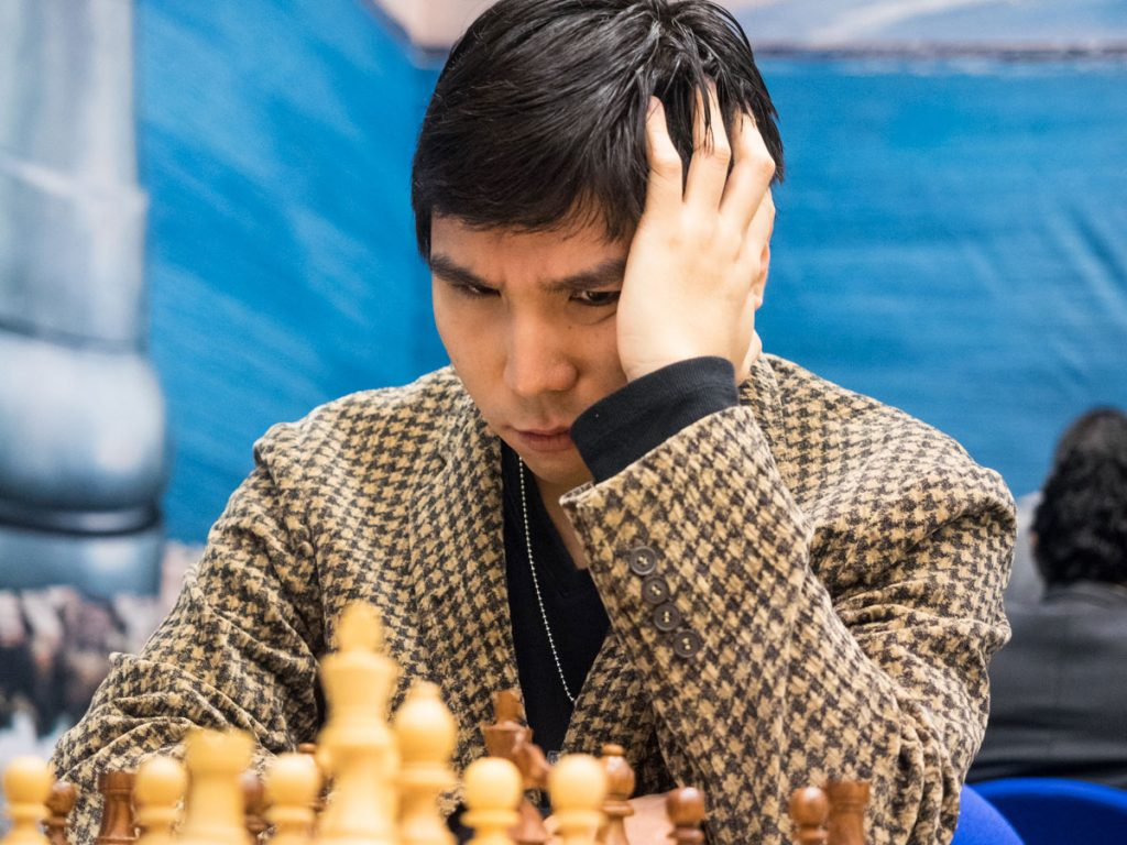 Wesley So, here in the 8th round of Tata Steel Chess. Photo: Maria Emelianova