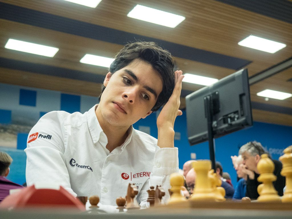 Junior World Champion Aryan Tari. Photo: Maria Emelianova