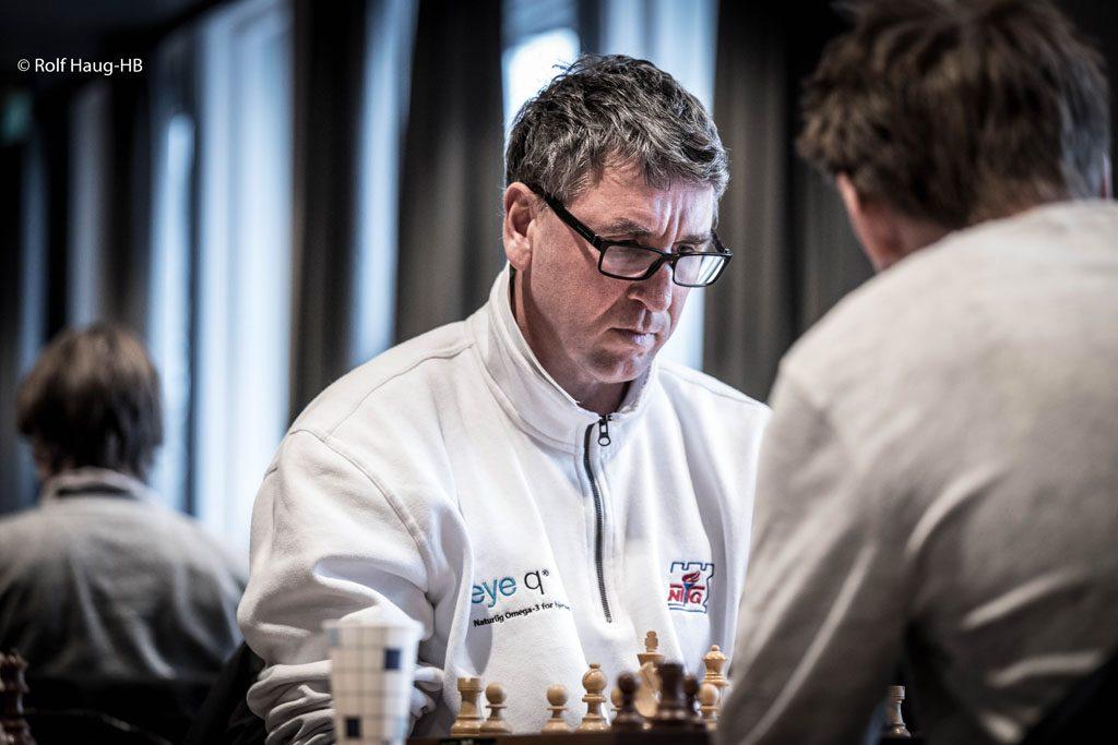 DOBBELTMESTER: Simen Agdestein . Foto: Rolf Haug/mattogpatt.no