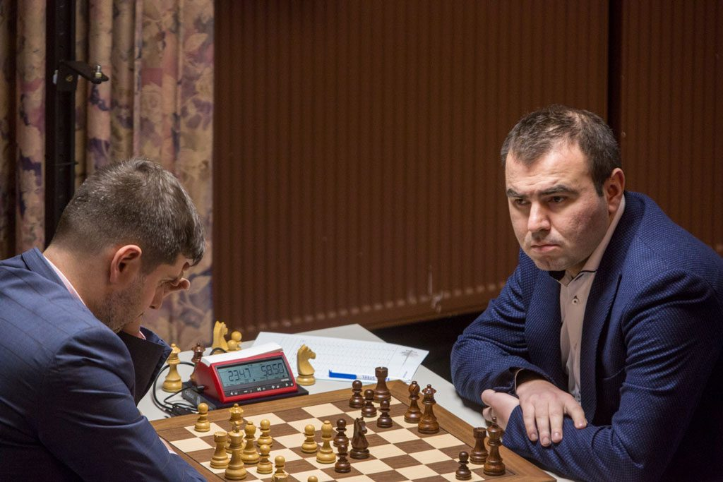Shakhriyar Mamedyarov is the new World #2 after a great performance in Wijk aan Zee. Photo: Maria Emelianova