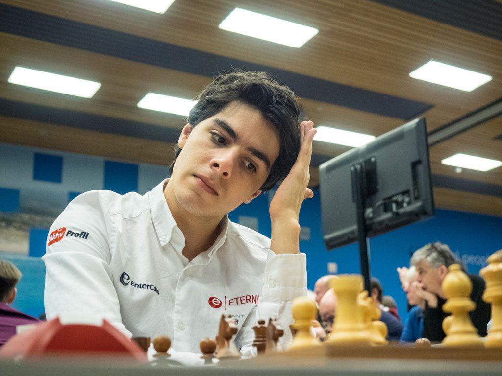 VRAKET: Aryan Tari i Norway Chess. Her fra Wijk aan Zee i januar. Foto: Maria Emelianova