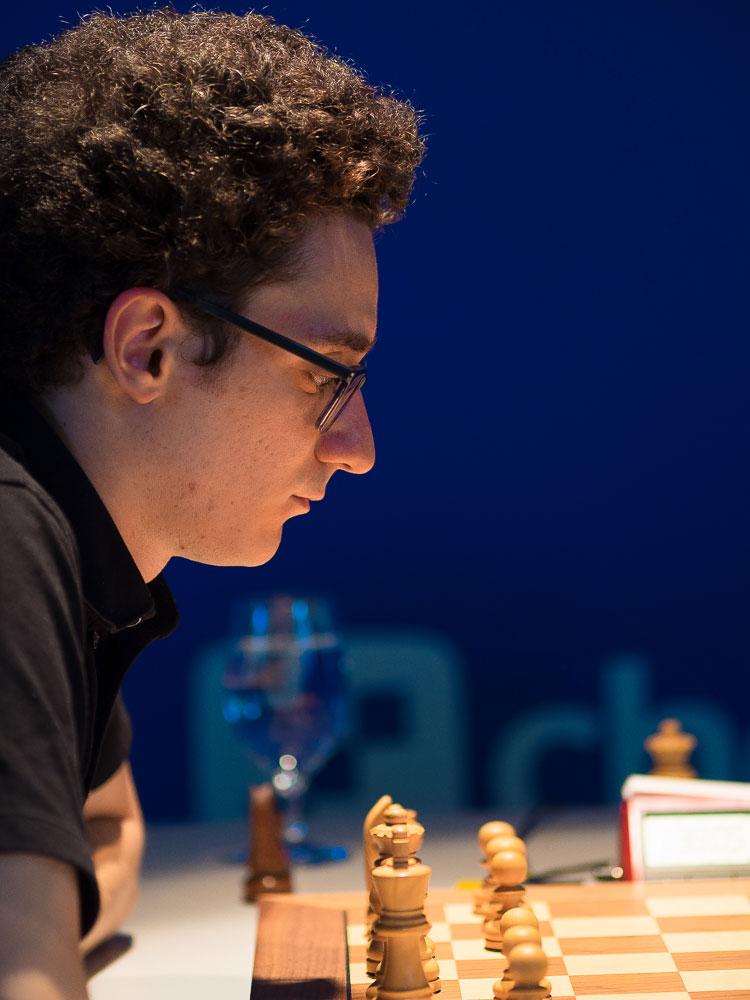 Fabiano Caruana kan ta sin andre turneringsseier på to uker. Foto: Eric van Reem