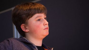 Vincent Keymer (13) kan kanskje bli en fremtidig VM utfordrer for Magnus Carlsen. Foto: Eric van Reem