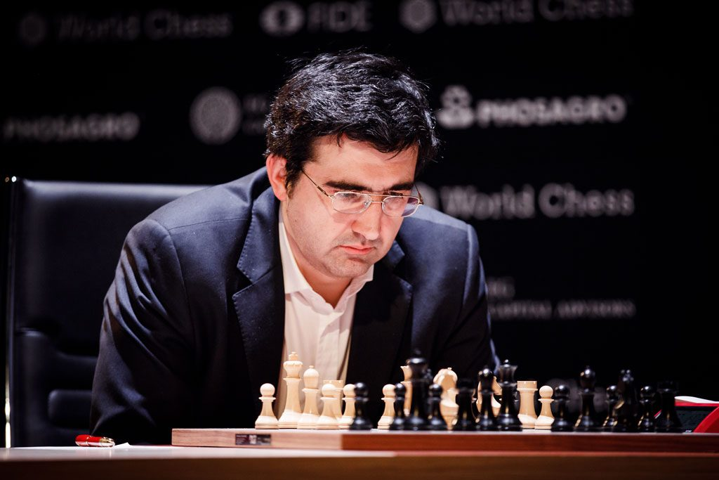 Vladimir Kramnik started the Candidates well, but ended up 5th. Photo: World Chess