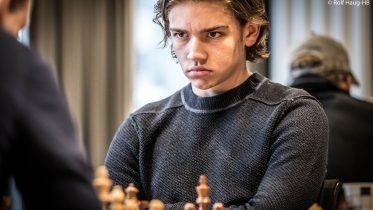 IM: Tor Fredrik Kaasen (15) er ny norsk IM. Foto: Rolf Haug/mattogpatt.no