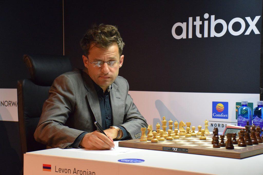 Levon Aronian møter Magnus Carlsen for 56. gang. Foto: Tarjei J. Svensen