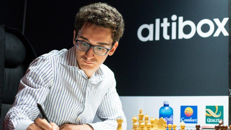 Fabiano Caruana ble vinner av Norway Chess 2018 etter seier over Wesley So i siste runde. Foto: Maria Emelianova
