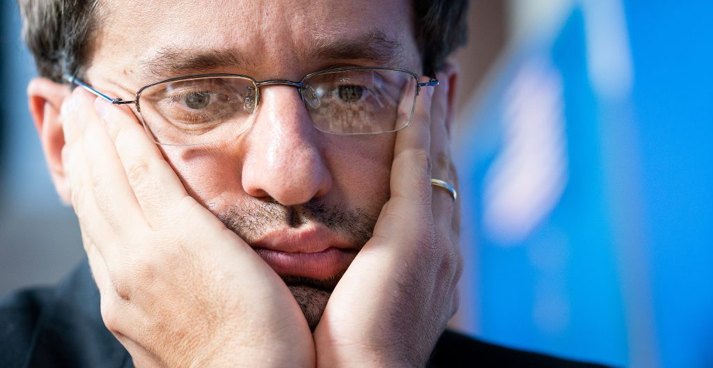 Levon Aronian played arguably the best game of the entire Sinquefield Cup 2018 when he defeated Alexander Grischuk. Photo: Lennart Ootes/Grand Chess Tour