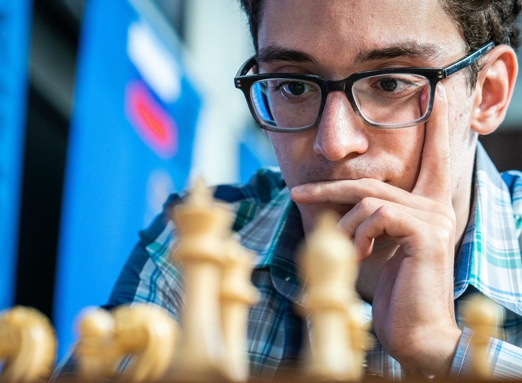 Fabiano Caruana had an extremely successful 2018, winning 4 events, but the most important one comes in November. Photo: Lennart Ootes/Grand Chess Tour