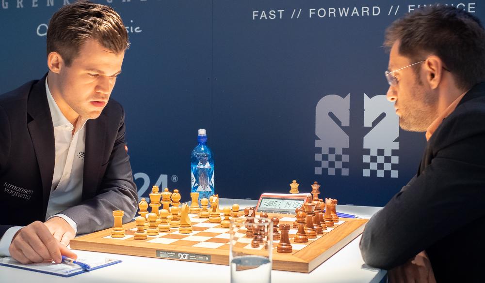 Bare Viswanathan Anand (8) har flere seiere over Magnus Carlsen enn Levon Aronian (7). Foto: Eric van Reem.