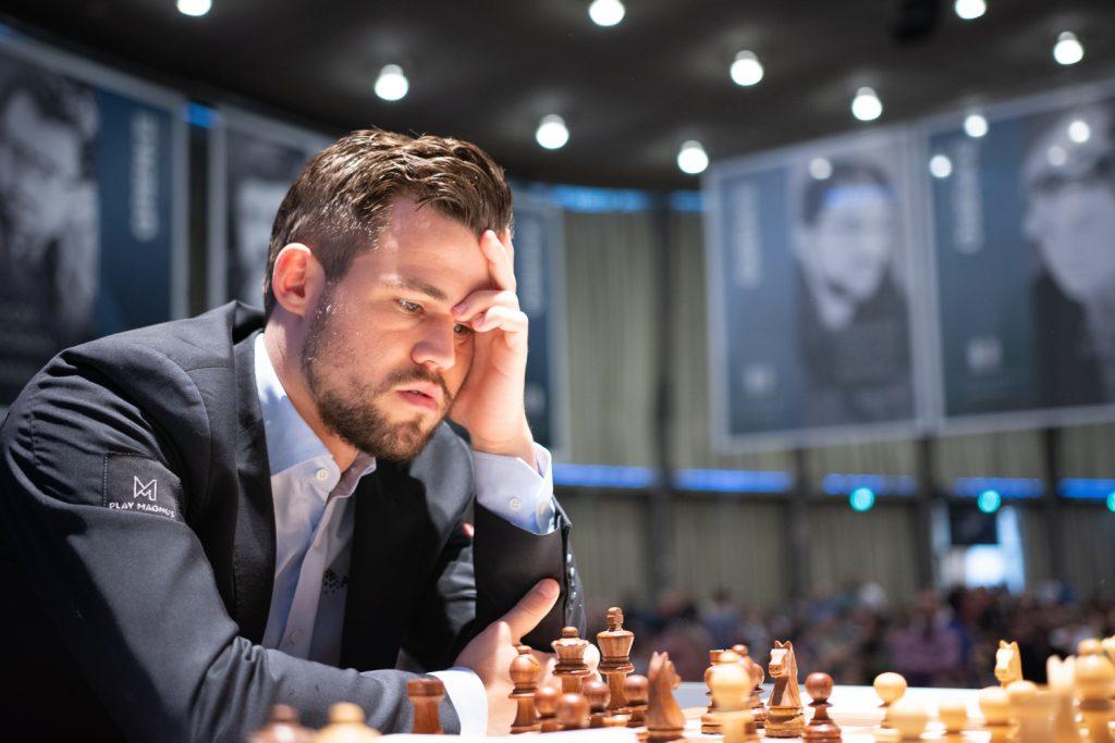 Magnus Carlsen deltar i Grenke Chess Classic for fjerde gang. Foto: Eric van Reem