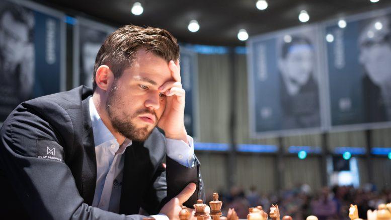 Magnus Carlsen kommer rett fra triumf i Grenke Chess Classic til Abidjan der han for første gang spiller på det afrikanske kontintentet. Foto: Eric van Reem
