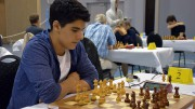 Aryan Tari med vakker avslutning i 5.runde. Foto: Yerazik Khachatourian
