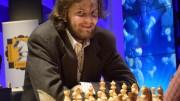 Grandelius endte på en litt skuffende 4.plass i EnterCard Chess Qualifier, kvalifiseringen til Norway Chess i mai i år. Foto: Tarjei J. Svensen