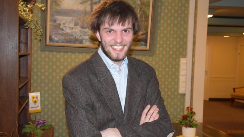 Nils Grandelius er klar for Norway Chess. Foto: Tarjei J. Svensen