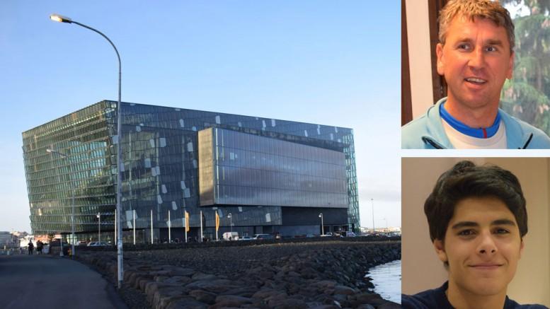 Reykjavik konserthus er spillested for storturneringen. Foto: Tarjei J. Svensen