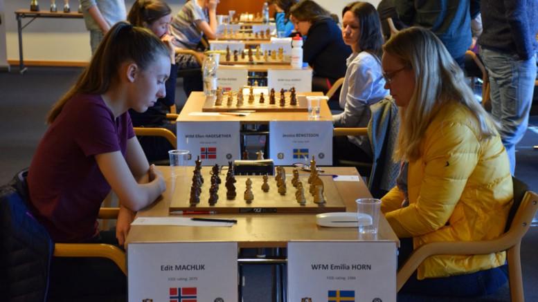 Norway with a convincn win vs Sweden. Photo: Tarjei J. Svensen