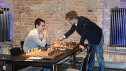 Will Ian Nepomniachtchi assist Magnus Carlsen or Sergey Karjakin in the next WC match? Photo: Yerazik Khachatourian