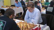 Jon Ludvig Hammer i det franske lagmesterskapet. Foto: Kjetil Stokke
