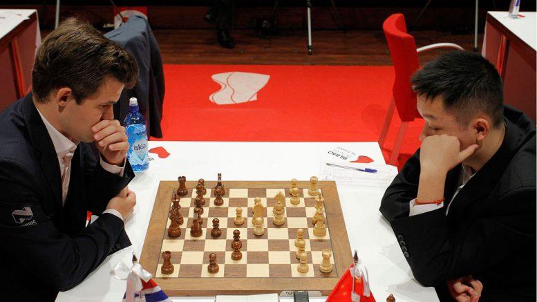 Wei Yi - Magnus Carlsen