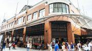 Skisse av Fulton Market i New York. Foto: Agon