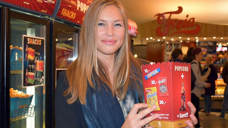 Kaja Snare gleder seg til å være reporter under VM-matchen i New York. Foto: Tarjei J. Svensen