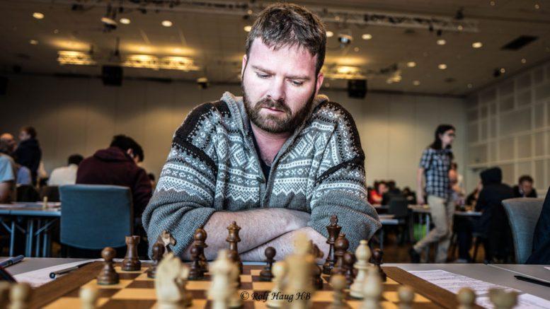 Torbjørn R. Hansen, her under Oslo Chess Festival. Foto: Rolf Haug/mattogpatt.no