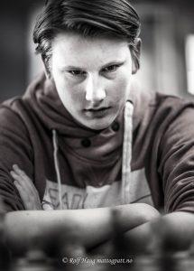 Johan-Sebastian Christiansen. Foto: Rolf Haug/mattogpatt.no